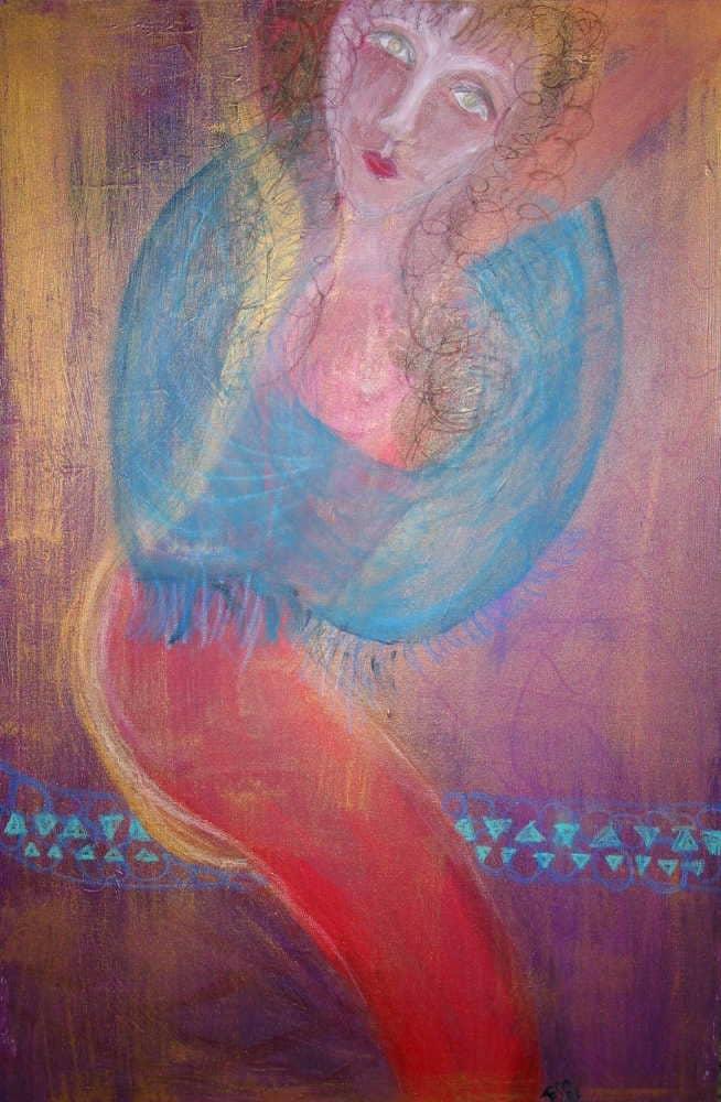 Artwork Blue Arms
