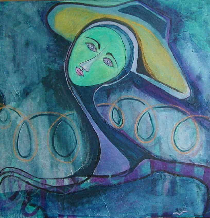 Hat Woman 1